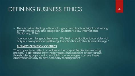 Business And Ethics Mba by Maintaining Ethical Standers In Business And Management