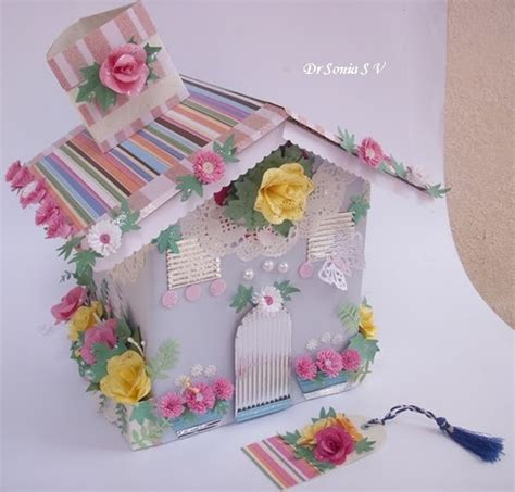 cards crafts kids projects 7 1 11 8 1 11 cards crafts kids projects house shaped box with