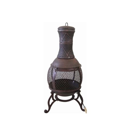 chiminea argos redwood leisure bronze chimnea from maxwells diy uk