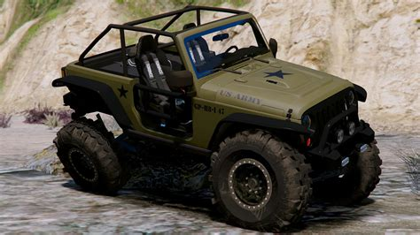 army jeep fde army livery for jeep trailcat gta5 mods com