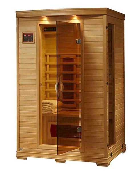 Heat Room Sauna by Coronado 2 Person Ceramic Infrared Heat Personal Home Sauna