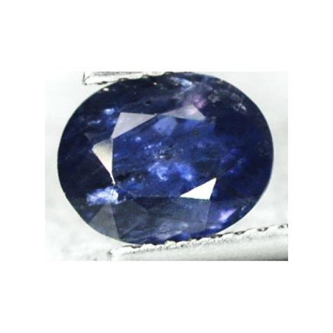Purplish Blue Iolite 6 45ct 1 11 ct purplish blue iolite gemstone for sale