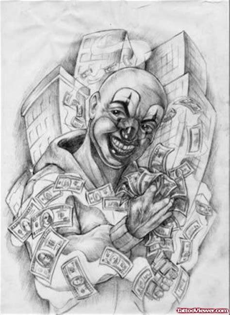 money over bitches gangsta tattoo design tattoo viewer com