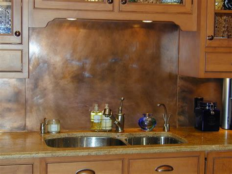 copper backsplashes for kitchens rustic kitchen backsplashes wall panels brooks custom