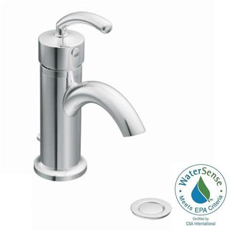 moen single hole bathroom faucet moen icon single hole single handle low arc lavatory