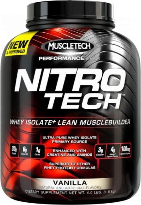 nitro tech whey protein powder muscletech