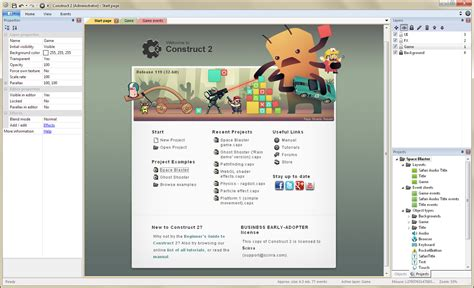 game tutorial using construct 2 make your own 2d games with construct 2