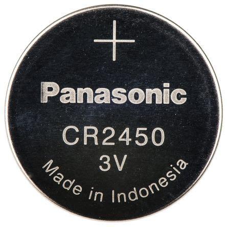 cr 2450/bn | panasonic cr2450 3v lithium manganese dioxide
