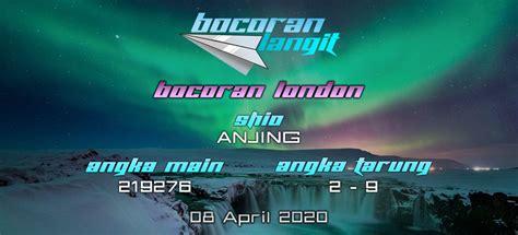 bocoran togel london  april  hari rabu  langit