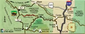 crown king arizona map arizona ohv trails ohv maps ohv places to ride and areas