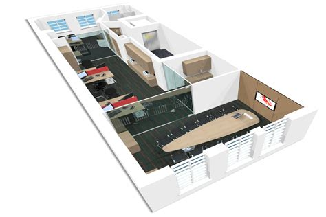 office layout planner 3d 3d office design whitespace consultants