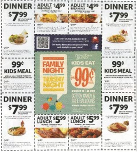 10 coupons for hometown buffet expires 7 3 2013 ebay