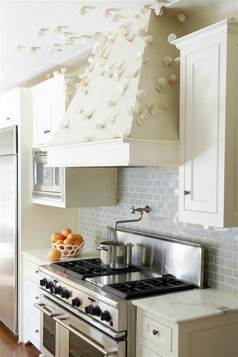 backsplash for ivory kitchen cabinets ivory and grey kitchen with subway tiles contemporary kitchen