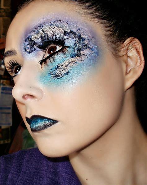eyeliner tattoo london ontario lace stencil makeup mugeek vidalondon