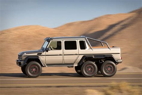 mercedes 6 wheel pickup upgrade your offroad adventures with the mercedes benz g63