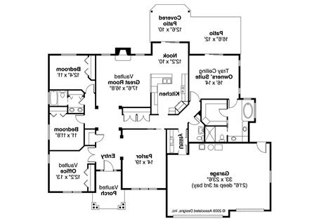 ranch house plans 30 678 associated designs