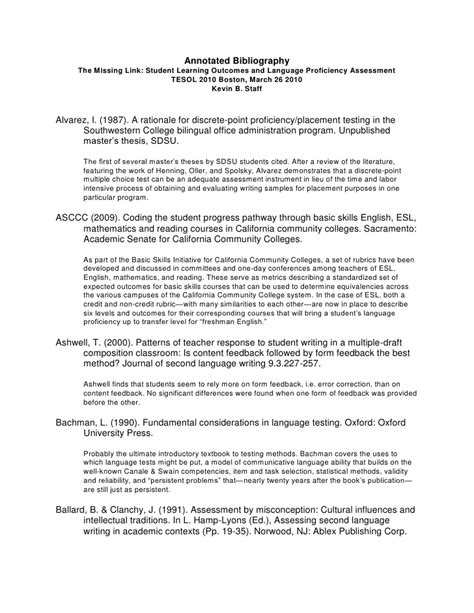 Resume Sample Harvard University by Annotated Bibliography