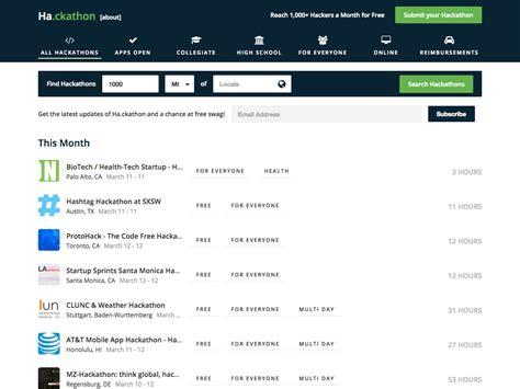 Hackathon Designazure Com Hackathon Website Template