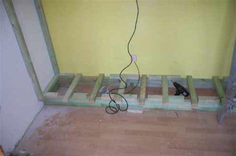 wandschrank bauen nische wandschrank selber bauen cool schrank mit vitrine selber