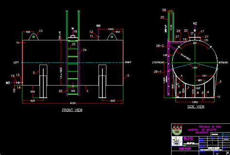 tank  dwg block  autocad designs cad