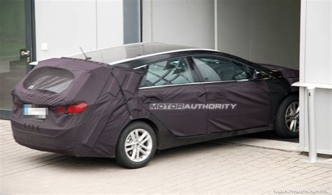 New Hyundai I40 201 201 hyundai sonata i40 wagon carspyshots