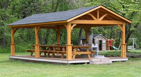 wood pavilions lykens valley gazebos  outdoor living
