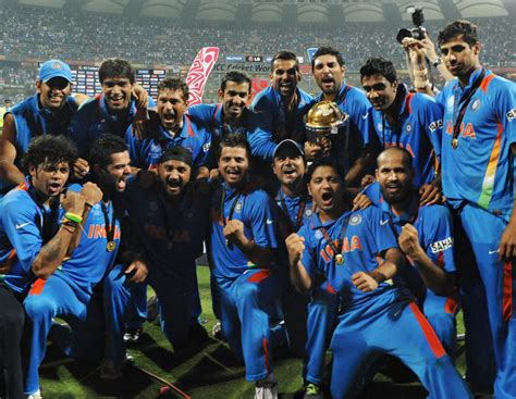 team india icc cricket world cup 2011 crowning for india