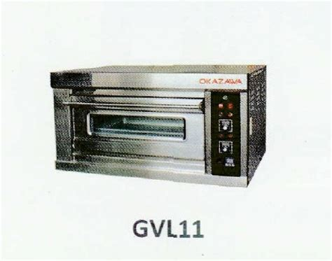 Oven Okazawa okazawa 1deck 1tray commercial gas baking oven my power