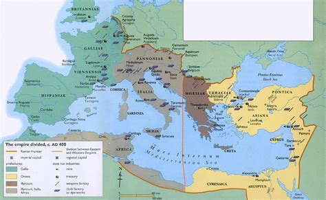 rome of the west photos 40 maps that explain the empire vox