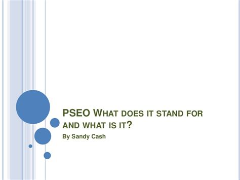 what does tsi stand for pseo what does it stand for and what
