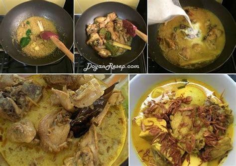 cara membuat opor ayam kuah kuning resep opor ayam tahu kuning special kuah gurih