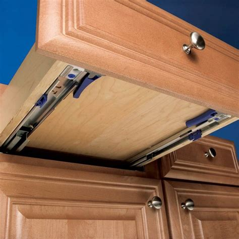 Undermount Drawer Slide Installation by 18 Quot Undermount Eclipse 3132ec Slide Rockler Woodworking