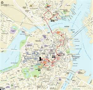Map Of Downtown Boston by Alfa Img Showing Gt Walking Map Of Downtown Boston