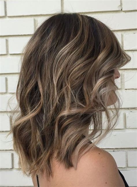 hairstyles 2017 balayage delicate balayage for short length hairstyle 2017 nice