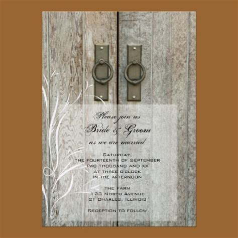 Country Themed Wedding Invitations by Country Wedding Invitations Rustic Wedding Chic