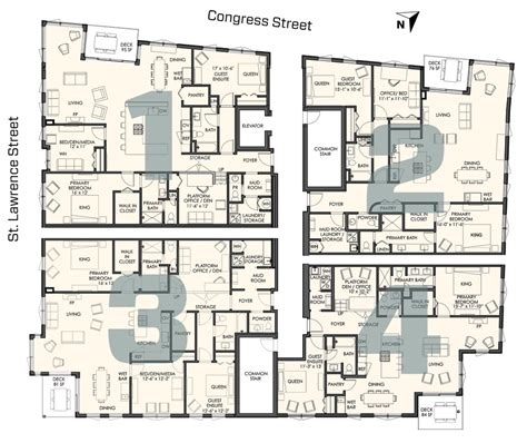 different types of building plans four different floor plans 118onmunjoyhill com