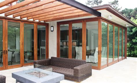 Corner Patio Doors by Backyard Doors