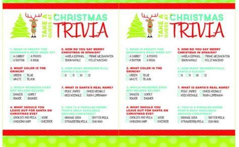 christmas film quiz online printable christmas trivia games christmas crafts