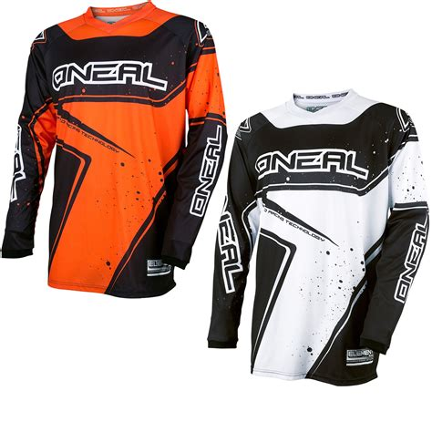 youth motocross jersey oneal element 2017 racewear youth motocross jersey