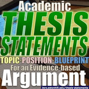 What Is A Subthesis by Choosing An Outstanding Exploratory Argument Essay Topic