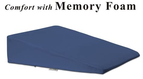 elevated bed pillows foam bed wedge pillow for better sleeping