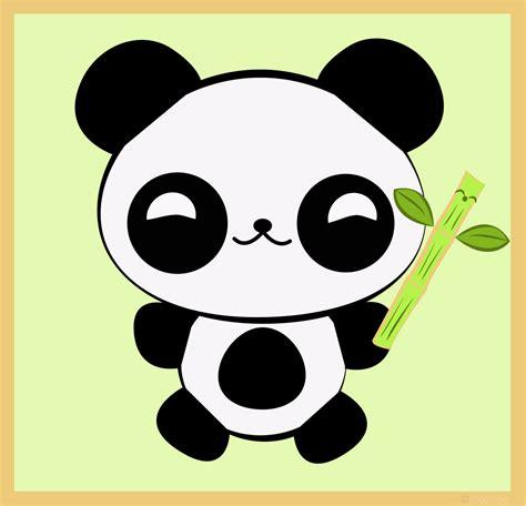 imagenes kawaii panda kawaii baby panda cute bamboo by rooshoo rooshoo