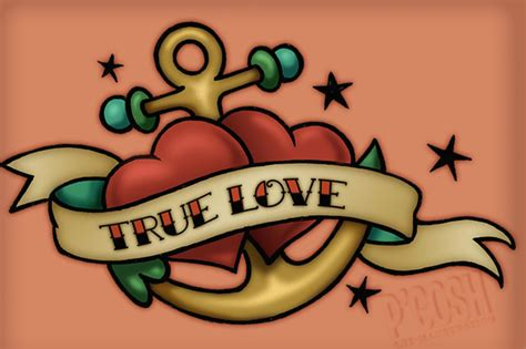 true love tattoo designs photos pictures and sketches
