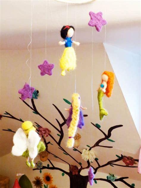 Disney Princess Crib Mobile by Disney Princess Mobile Baby Nursery Waldorf Style Needle