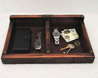 Mens Nightstand Valet by Catchall Mens Valet Tray Nightstand Organizer Antique