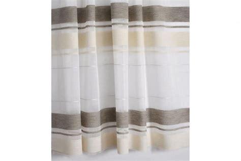 gardinen beige braun gardinenstoff 150 cm breit querstreifen wei 223 beige braun