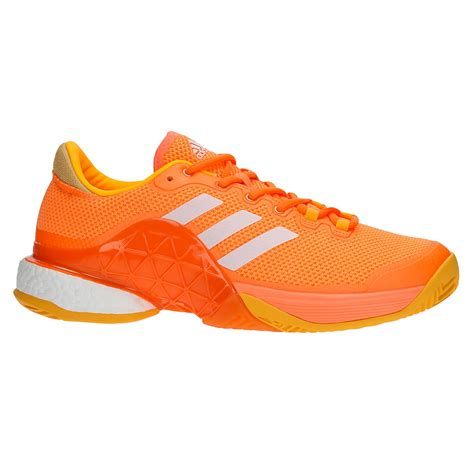 adidas barricade boost s tennis shoes orange