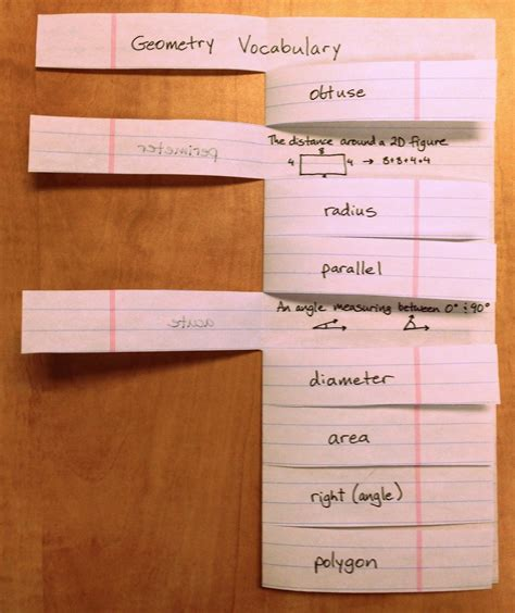 Cool Ways To Fold Notebook Paper - the yellin center foldable flashcard alternative