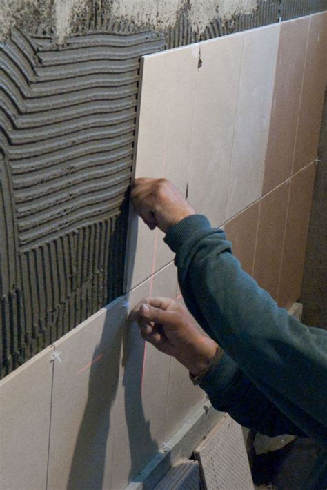 Wall Tile Installation How To Install Wall Tile In Bathroom Howtospecialist How To Build Step By Step Diy Plans