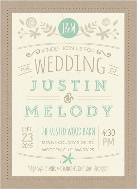 Wedding Attire Announcement by 25 Best Ideas About Casual Wedding Invitation Wording On
